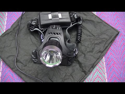 Cree T6 Head Torch Review