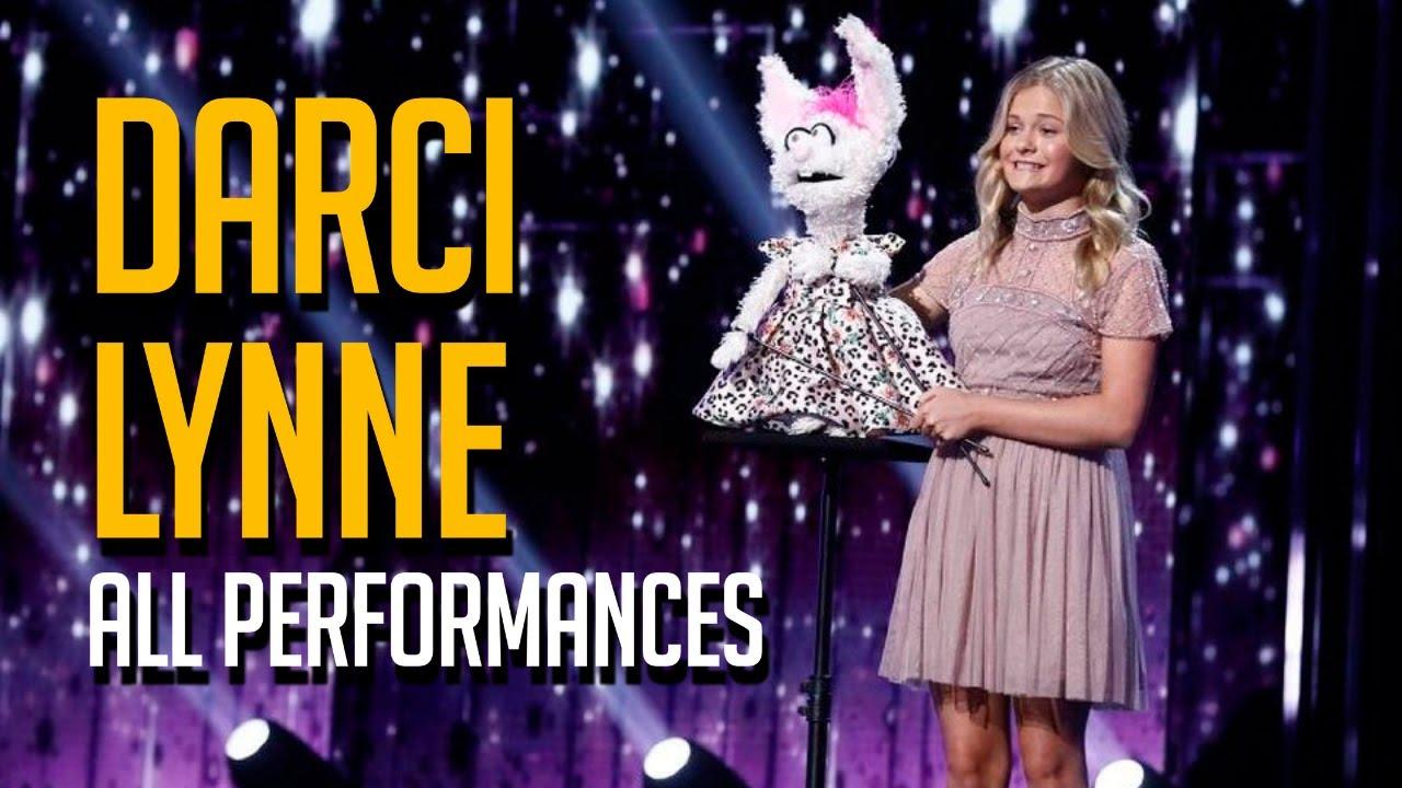 AGT Winner Darci Lynne All Performances On America's Got Talent EVER!