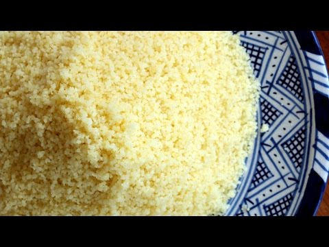How to Steam Couscous / كيف تبخر الكسكس - CookingWithAlia - Episode 425