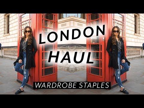 LONDON TRY ON HAUL // WARDROBE BASICS ♡