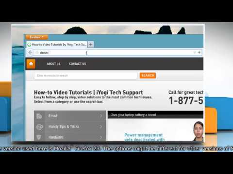 How to let all websites save password, cookies etc. on Mozilla® Firefox in Windows® 8.1
