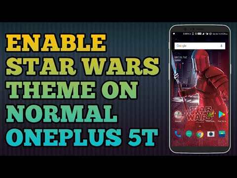 oneplus star wars edition theme for oneplus 5t