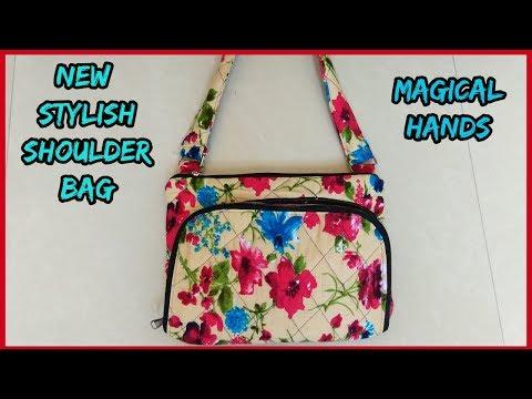 shoulder bag new branded pattern  diy 2017 -|magical hands| 2018