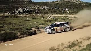 WRC - Rally Italia Sardegna 2018 / M-Sport Ford WRT: Best of Aerial