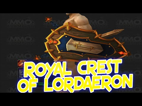 Best WoW Transmog Weapons ep.5 Royal Crest of Lordaeron