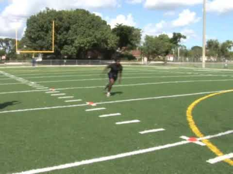 Croswell Paige #21 RB Coral Springs High School Senior 2010