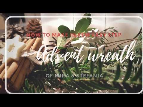 DIY Advent Wreath - simple and easy