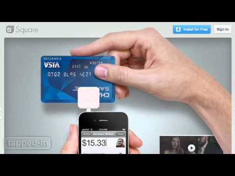 Tapped-In: Square iPhone App & Card Reader