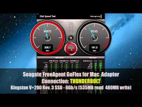 Disk Drive Speed Test: Thunderbolt, Firewire, USB - HDD vs. SSD
