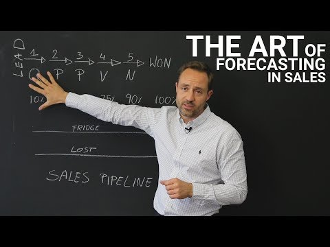 The art of forecasting in sales