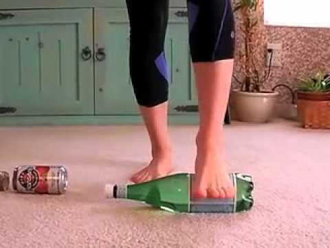 Rolling opens the foot and increase circulation