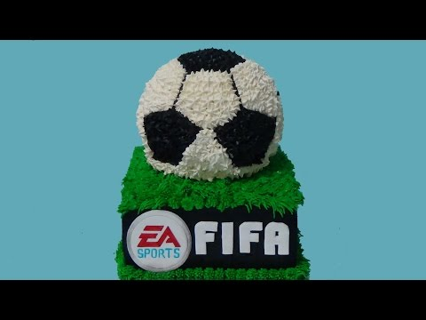 how to make fifa soccer birthday cake