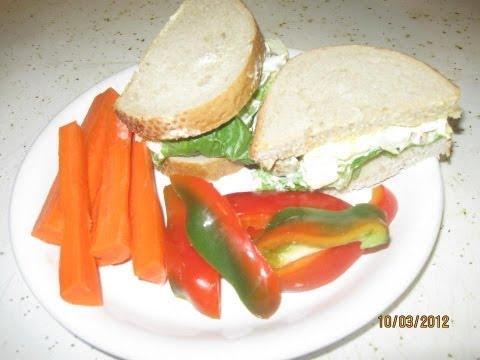 Egg and Olive Salad Sandwich - Video 22