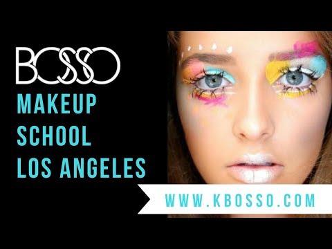 Best Makeup School in Los Angeles - Get Certified by Celebrity MUA Kimberley Bosso!