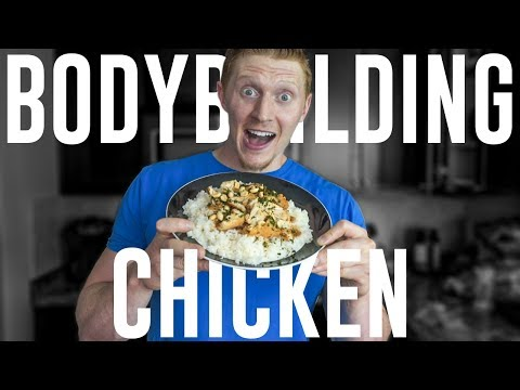 THE EASIEST BODYBUILDING CHICKEN RECIPE (Bulking or Cutting)