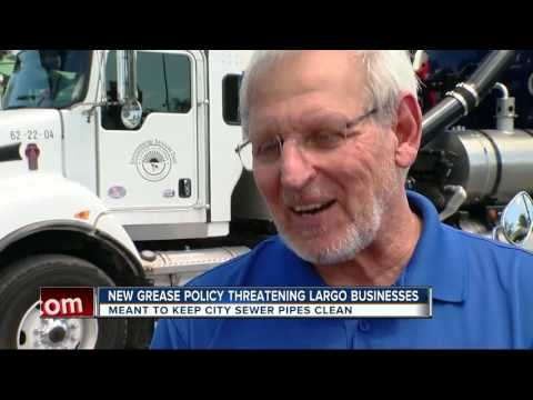 Florida Grease Trap Ordinance Leaves Business Owners With Messy Situation