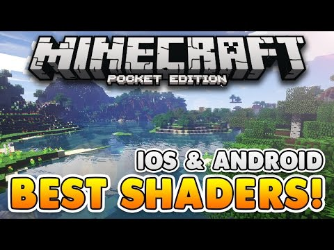 BEST SHADERS PACK for Minecraft PE! iOS & Android Resource Pack! (Pocket Edition)