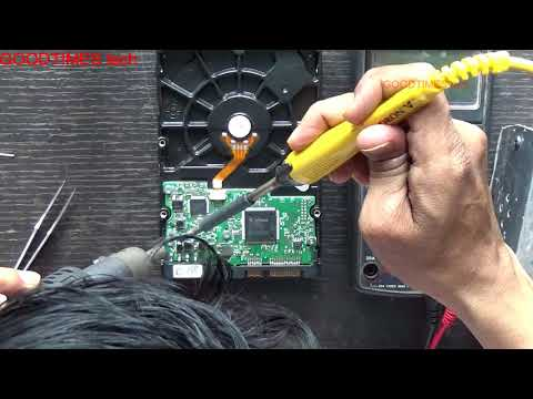 Computer not turning ON when HDD is connected | HDD PCB short | Solved