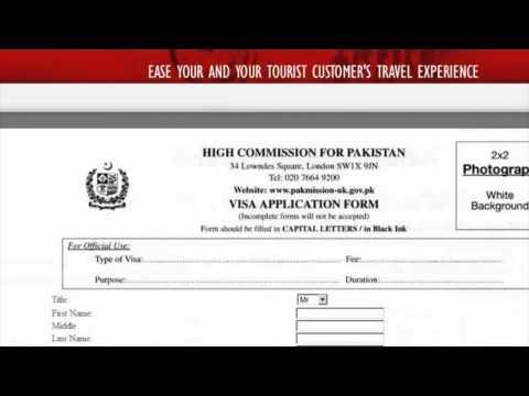 Pakistan Visa Application form - Automated powered by VisaManagementSystem.net