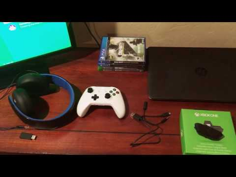 How to use PlayStation GOLD HEADSET with XBOX ONE!! Easy & Cheap!
