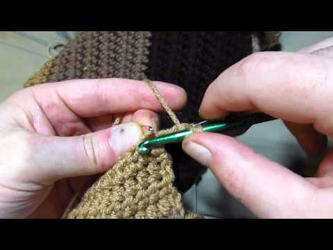 Avoid Increasing When Turning Crochet Rows