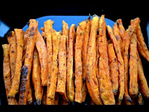 Oven Baked Sweet Potato Fries!!