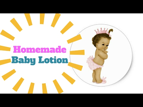 Diy Oatmeal Baby Lotion For All Skin Type