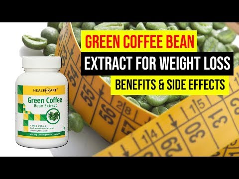 Lose 5 Kg weight in some days with Green Coffee Bean Extract