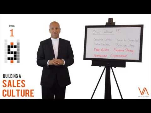 Sales Culture - Introduction - What is it?  #1
