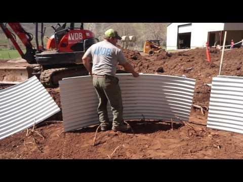 CLS - In-ground Trampoline System Installation