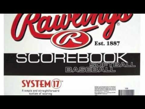 Rawlings System 17 Baseball & Softball Scorebook   17SB