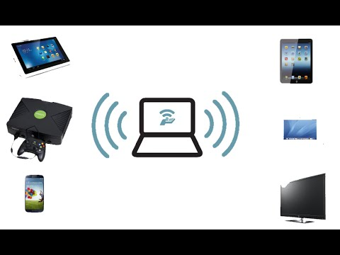 Astuces d'or : Comment rendre un ordinateur comme routeur Wifi sans rien installer