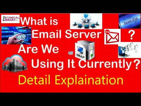What is E Mail Server in Hindi and Kinds of Protocol used for Email Server and Communicating from it