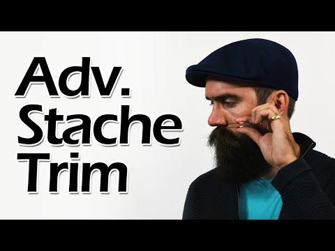 Advanced Mustache Trimming
