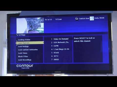Cox Parental Controls
