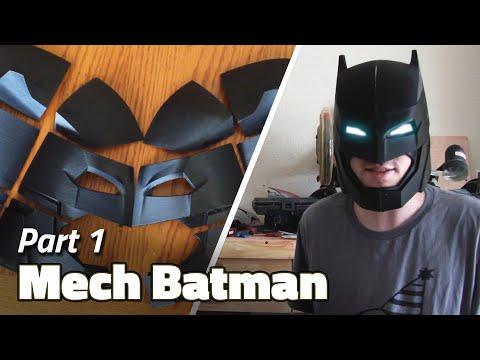3D Printing | Batman Helmet Build - Part 1