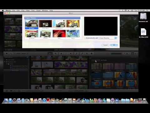 iMovie 11: Adding Transitions