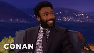 Donald Glovers Sexy Coyote Confrontation Conan On Tbs