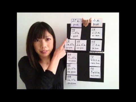 【28】Time in Japanese part2- minutes /Japanese for beginner with Rieko