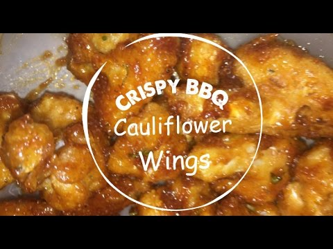 Crispy BBQ Cauliflower Wings | Easy & Vegan