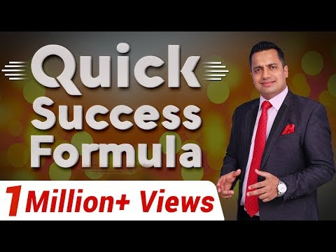 Quick Success Formula : Best Motivational Video By Mr Vivek Bindra In India (Hindi)