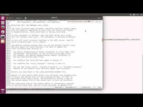 How To Install Postfix Mail Server on ubuntu 17.04 zesty zapus