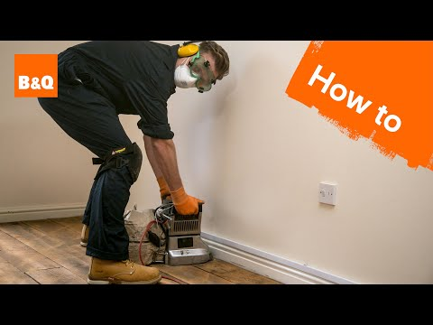 How to sand & varnish floorboards part 1: preparation & sanding