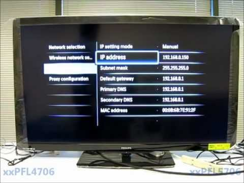 Philips 4706 and 5706 TV Series