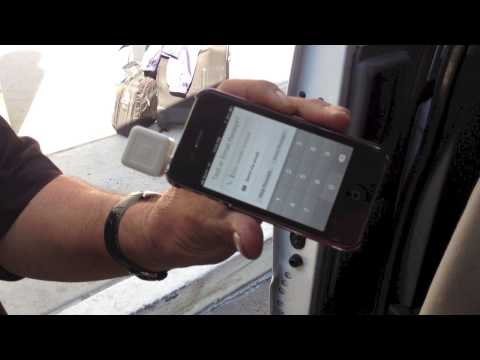 Accepting credit cards on the go with i-phone, awesome technology...