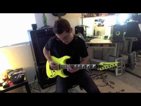 Pinch Harmonics Rhythm & Lead Guitar Lesson