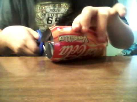 How to Make Soda Cans Into Sheets