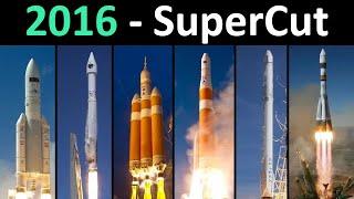 Rocket Launch Compilation (SuperCut)   Go To Space