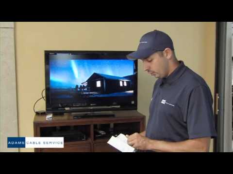 Adams Cable DTA instructional video