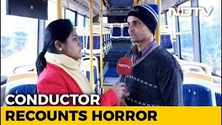 """""""Goons could have entered inside if driver had stopped"""": Gurgaon Bus Conductor"""